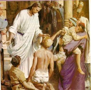 Jesus sanando