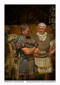 tribuno y centurion