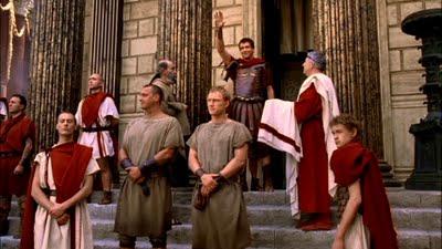 romanos patricios y esclavos pretoriano
