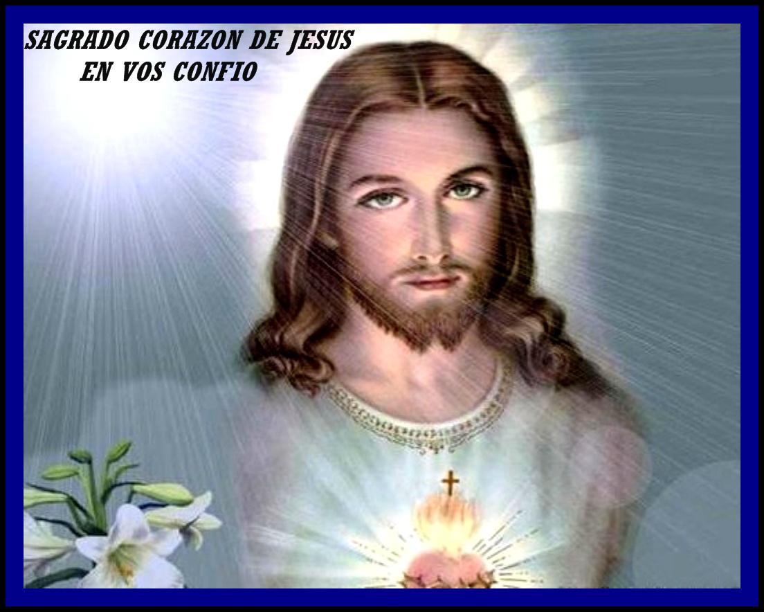 SAGRADO CORAZON DE JESUS EN VOS CONFIO