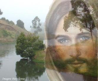 1JESUS CON UN PAISAJE
