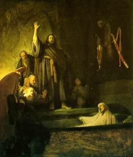 1Rembrandt, the Raising of Lazarus