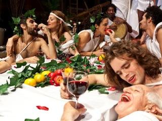 banquete romanos