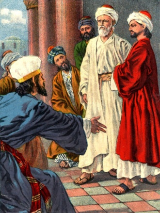 Hechos-Apostoles-413-Pedro-Juan-Sanedrin-escribas-ancianos
