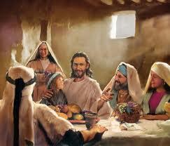 Jesus-comiendo