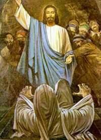 Jesus resucitando a Lazaro_187