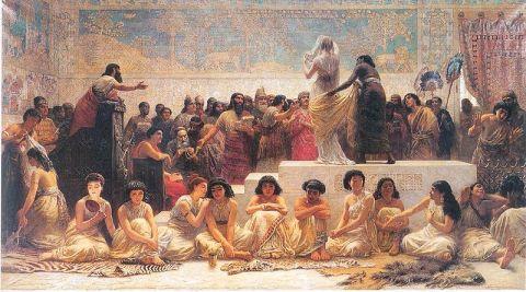 mercado esclavas