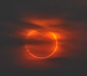 The annular solar eclipse as seen from Qingdao