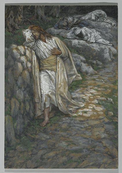 agonia en el getsemani cronicadeunatraicion