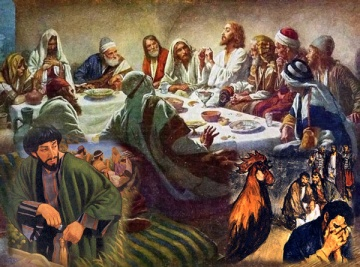 ultima-cena-Judas-negacion-Pedro