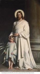 38Christ Blessing the Little Child, 1873