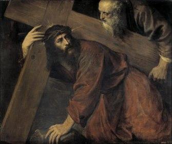 3Cristo camino del Calvario - Tiziano 1560