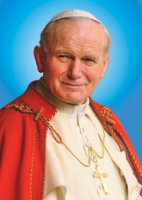 POPE JOHN PAUL II SEEN IN IMAGE RELEASED BY POSTULATION OF SAINTHOOD CAUSE