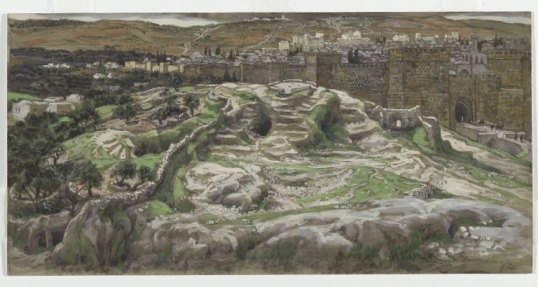 _Reconstruction_of_Golgotha_and_the_Holy_Sepulchre,_Seen_from_the_Walls_of_Herod's_Palace_-_James_Tissot