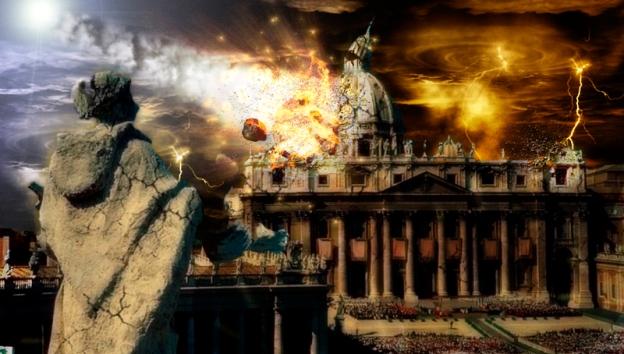 destruccion del vaticano
