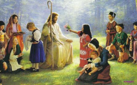 jesus ama a los niños