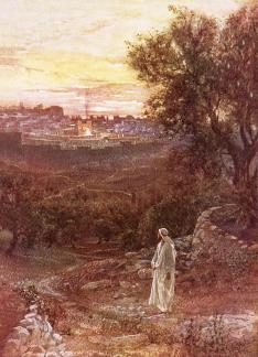 jesus-on-the-mount-of-olives-william-brassey-hole