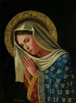 maria orando