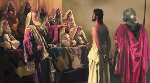 sumo-sacerdote-Jesus-Caifas-Sanedrin-Juicio