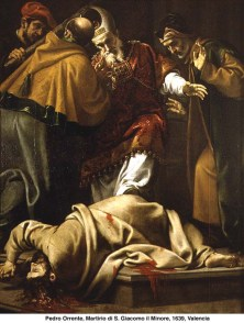 martirio de santiago