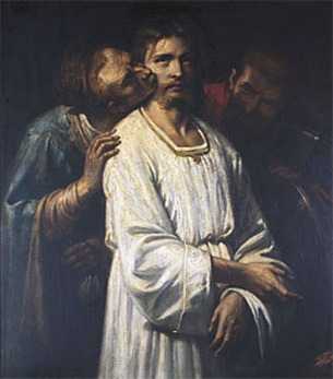 Thomas Couture-el beso de Judas 1840 (1)