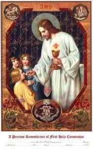 Communion Certificate