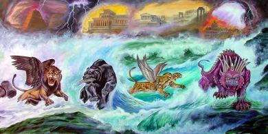 Cuatro bestias de Daniel -Panorama