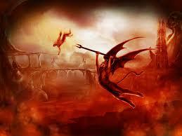 cayendo en el infierno