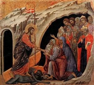 2Descenso de Cristo al Infierno de Duccio di Buoninsegna 1308-11 Museo dell'Opera del Duomo Siena