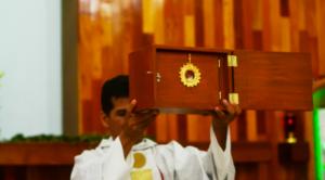 HOSTIA SANGRANTE EN GUADALAJARA
