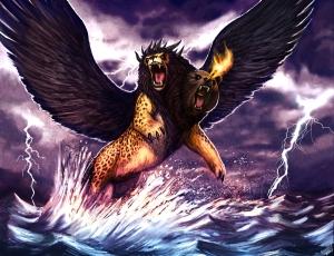 La_Bestia del mar Apocalipsis