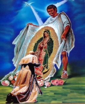 Virgen de Guadalupe - Tilma Juan DIEGO