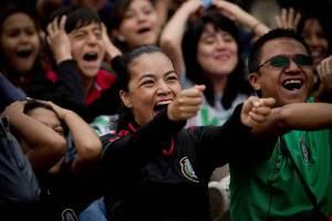 (90)MEXICO-CIUDAD DE MEXICO-JUEGOS OLIMPICOS-FUTBOL-MEXICO VS BRASIL