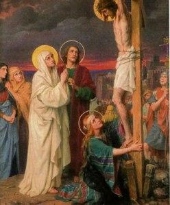 2junto a la cruz