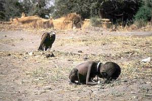 hambre y muerte