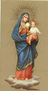 madre de la eucaristía