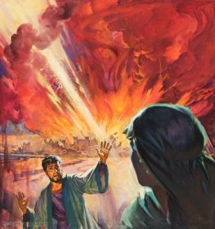 Destruction of Sodom and Gomorah