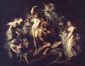 Asmodeo, el demonio de la lujuria