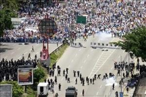 30manifestaciones en Venezuela