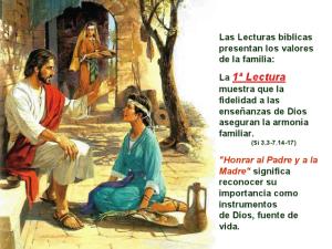 Domingo 30 Sagrada Familia 1º lectura