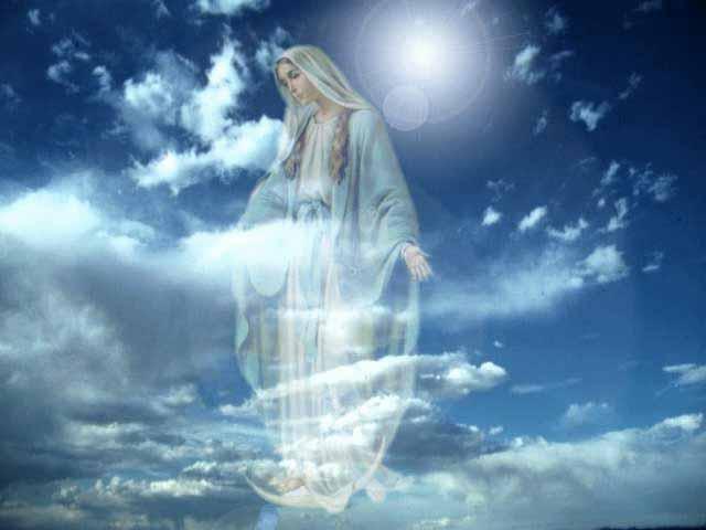 Resultado de imagen para angeles en el cielo