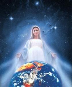 VIRGEN MARÍA Y EL MUNDO - mundo protegido
