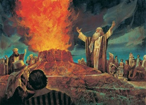 1-Reyes-18-Elias-Baal-Monte-Carmelo-sacrificio-altar-agua-12-piedras