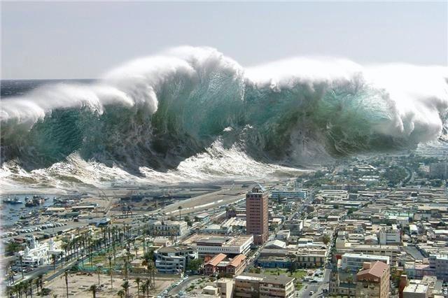 Tsunami en japon arrasa una ciudad!!!!