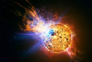 explosion solar