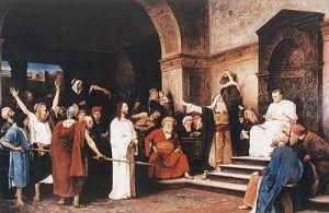 JESÚS_ Cristo ante Pilatos