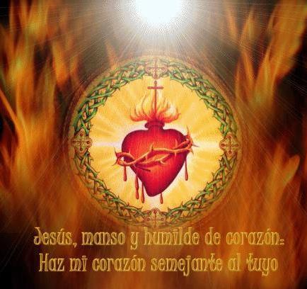 Resultado de imagen para jesús manso y humilde de corazón