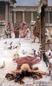 martirio de santa Eulalia
