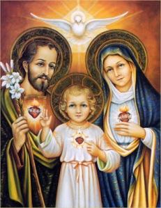 Sagrados Corazones de Jesús, María y José