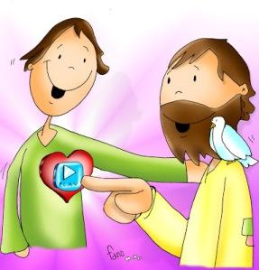 jesus en el corazón